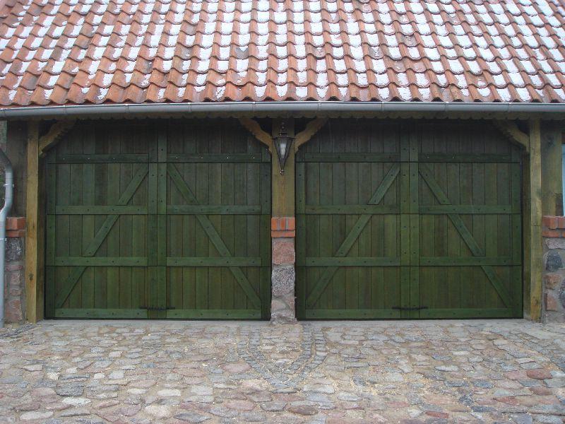 Drewniane Bramy Garażowe Jankowski Galeria Zdjęć